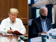 Trump y Biden
