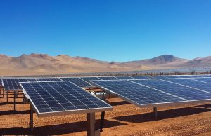 Paneles solares Chile