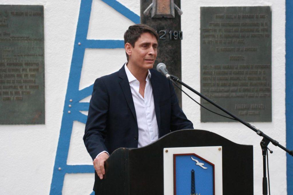 Sergio Affronti en Chubut
