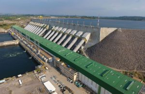 Hidroeléctrica en Brasil